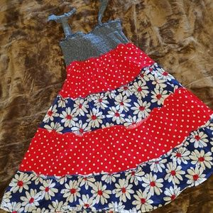 Basic Editions Red, White and Blue Girls Sundress